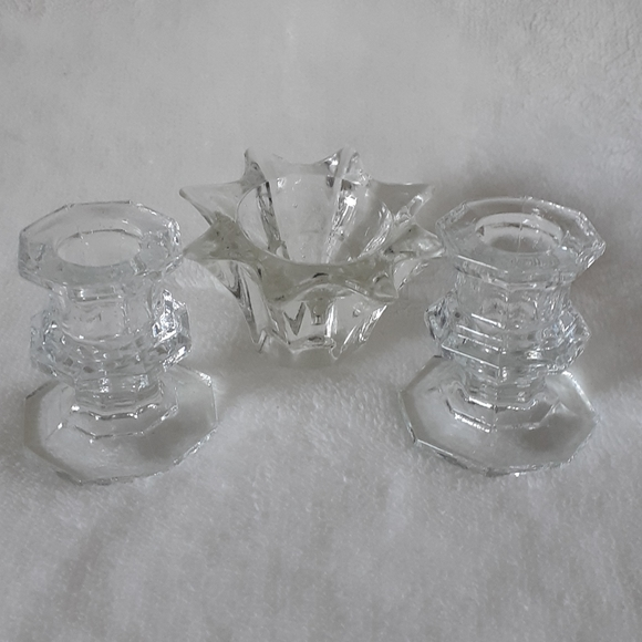 Clear Class Candles Tealight Holder
